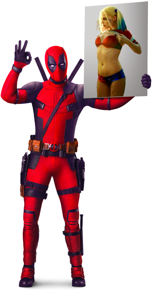 Deadpool fan art deadpool harley quinn poster by - Deadpool harley quinn notebook ...