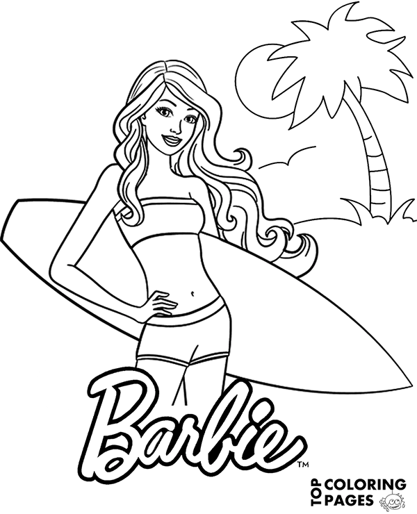 Coloring Page For Girls Mermaid Coloring Book Princess Coloring Pages Cartoon Coloring Pages