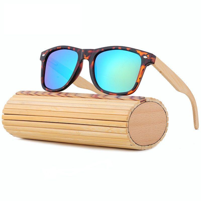 cced46d061 Lentes De Sol De Madera De Bambú Polarizados Para Hombre y Mujer