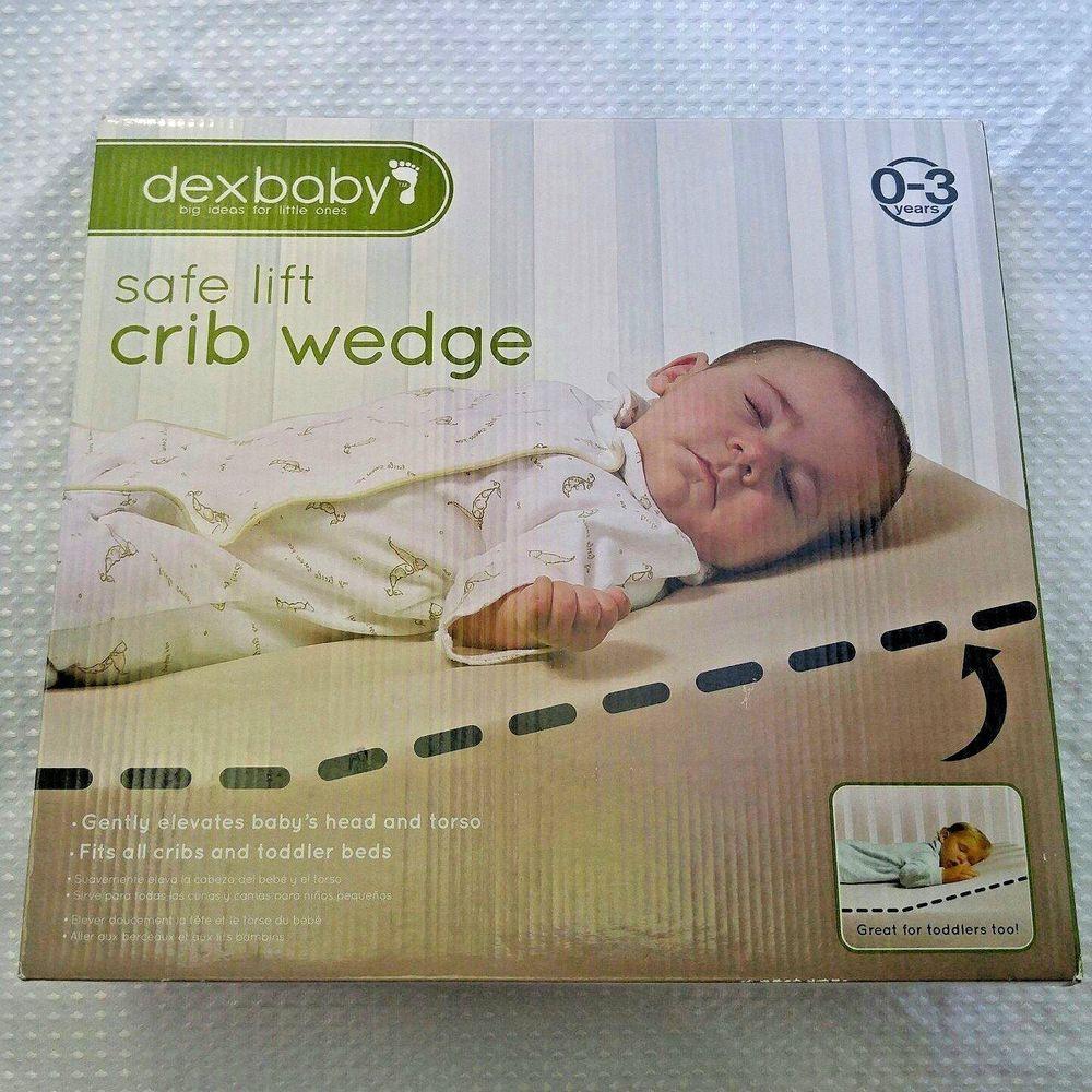 Safe Lift Universal Baby Crib Toddler Bed Sleep Wedge