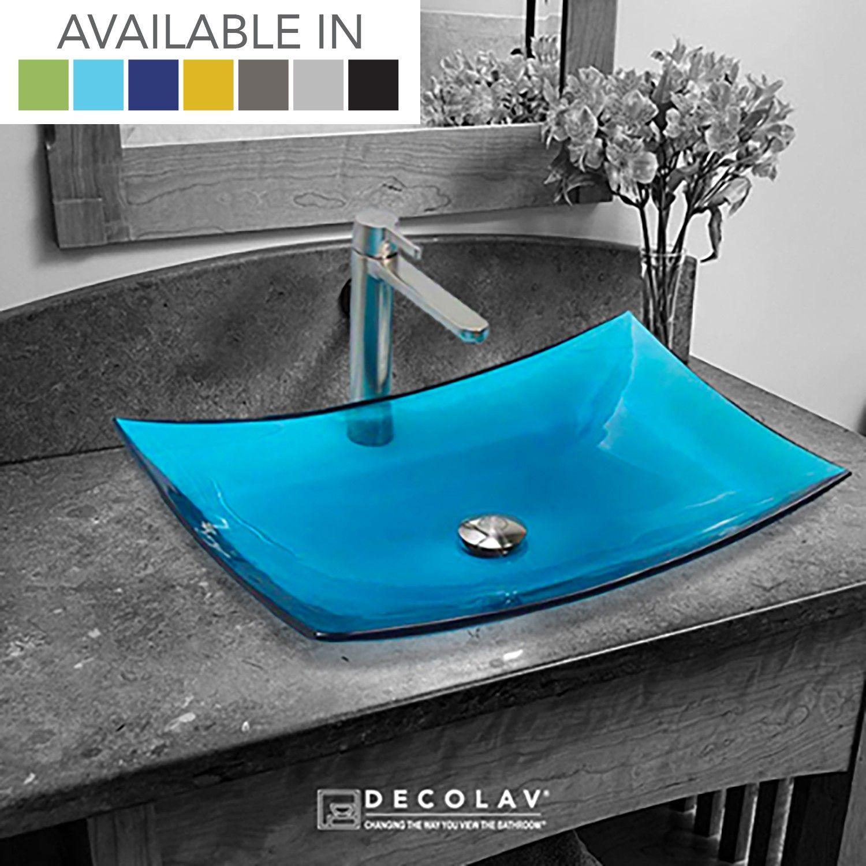 Incandescence ™ Rectangular Above Counter Bathroom Sink Home