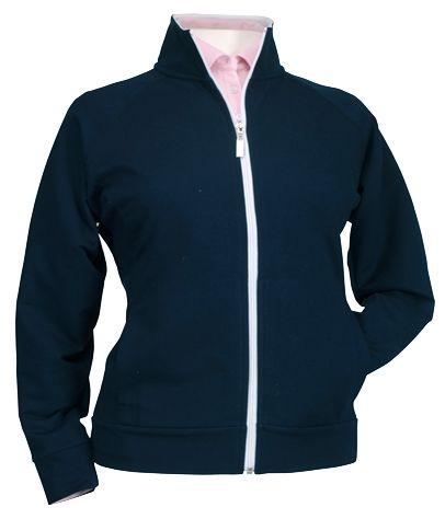 Ladies Zip Front Jacket By Bermuda Sands Apparel Summer Buy It Readygolf Com Womens Golf Shirts Outerwear Women Jackets