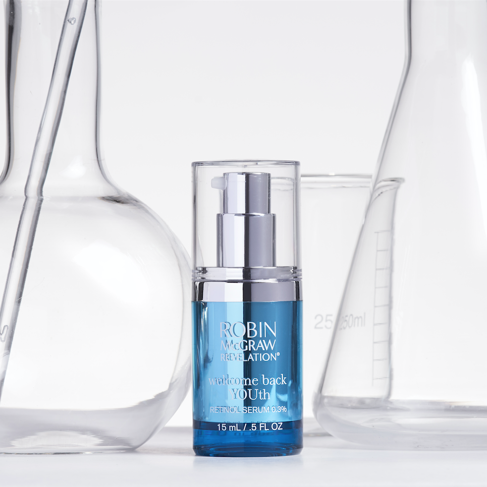 Retinol Serum Is Important For Tackling Fine Lines And Wrinkles Robin Mcgraw S Welcome Back Youth Packs A Powerfu Anti Aging Skin Care Skin Care Retinol Serum