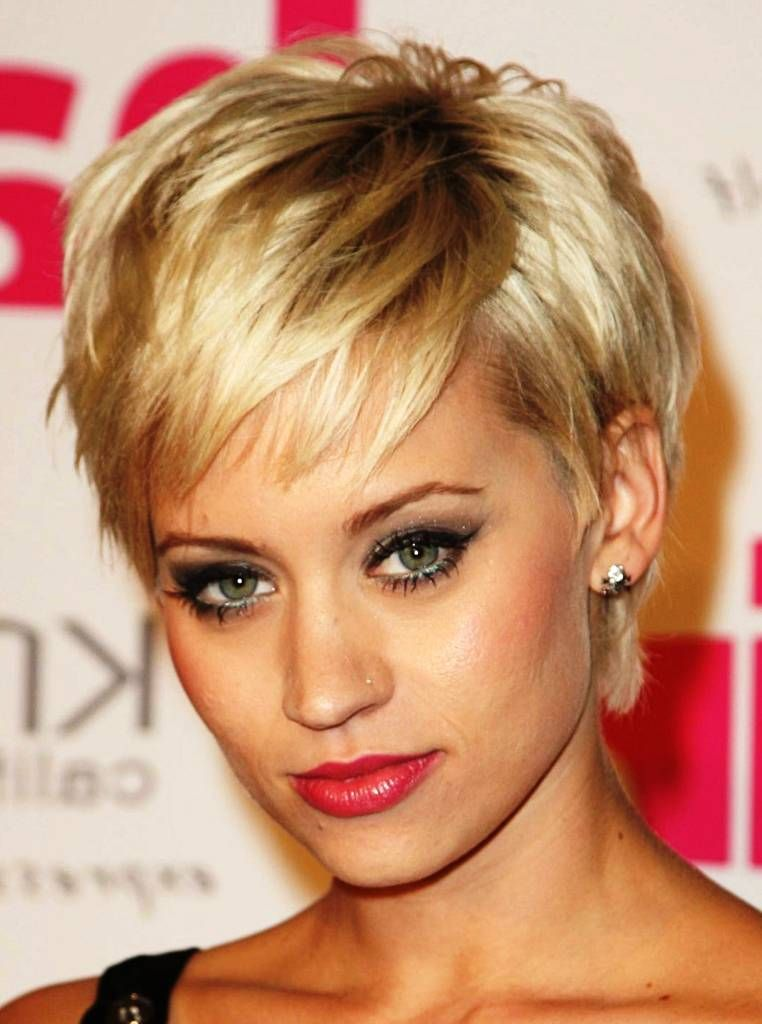 Short Hairstyles For Thin Hair And Round Face Short Hairstyles For