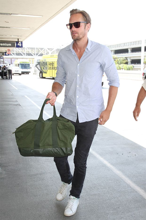 The Best-Dressed Men of the Week: A Very Special Airport ...