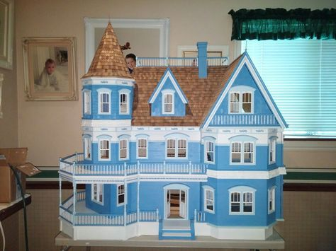 this was my very first time assembling a doll house which I want to refer to as action figure doll house.