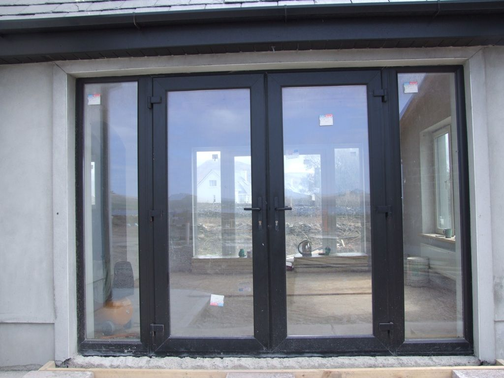 Modern front doors black - Get An Exterior Wood Door That Is Classy If You Want To Go The Contemporary Way