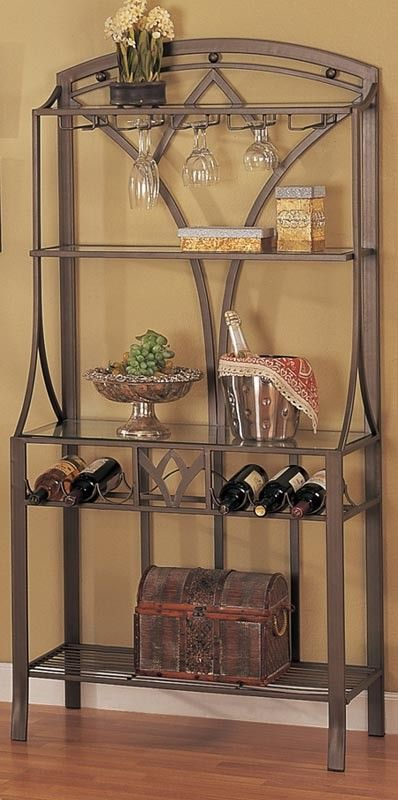 Wine Rack Orange County Furniture Warehouse F3003 Wine Rack Cabinet Wine Glass Storage Bakers Rack