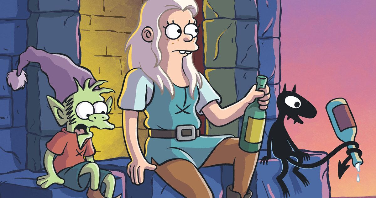 New Disenchantment Trailer: Medieval Madness from The Simpsons Creator -- San Diego Comic-Con was treated to a brand-new look at Matt Groening's series Disenchantment. -- https://tvweb.com/disenchantment-tv-show-trailer-netflix/