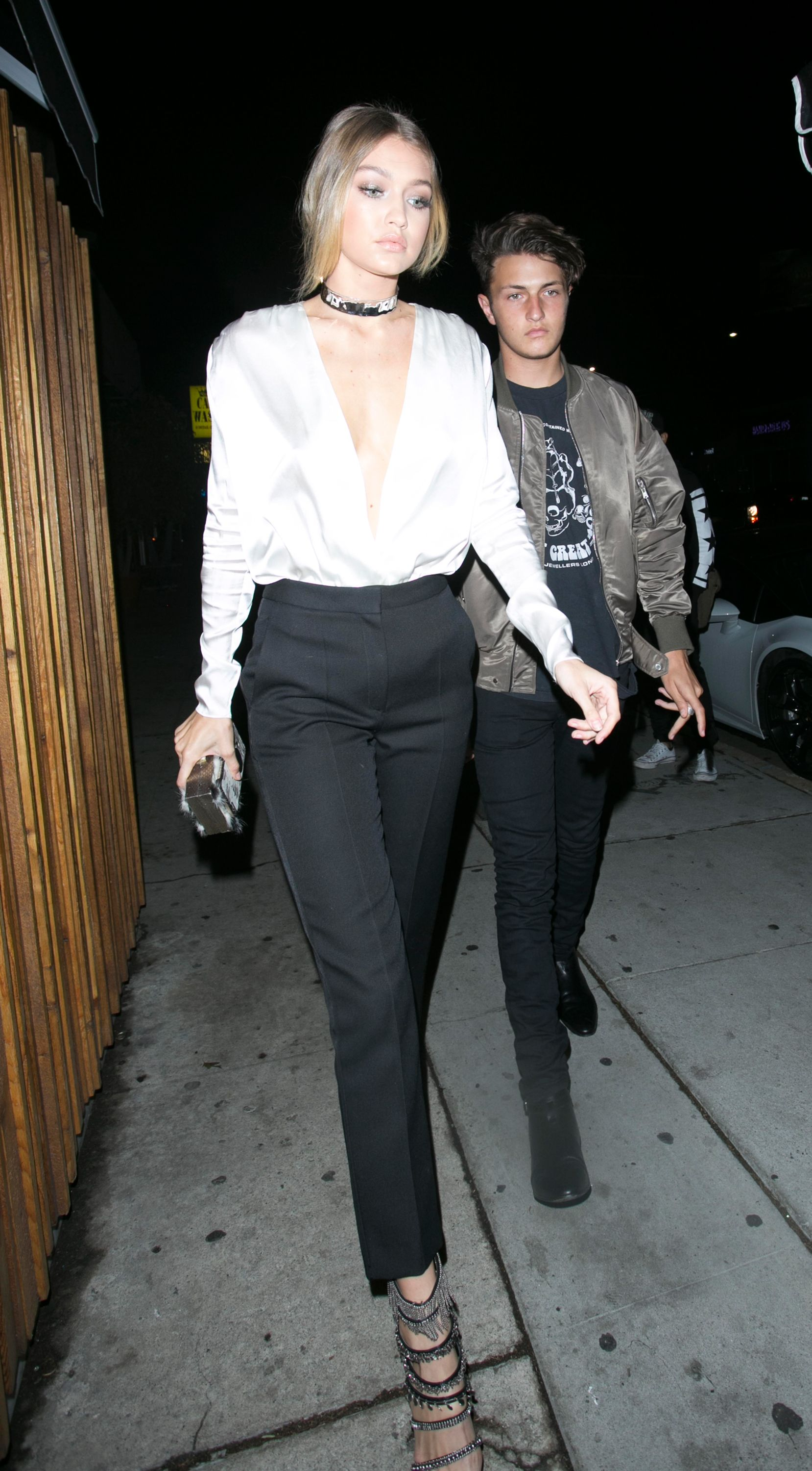 Gigi Hadid Shows That All It Takes To Amp Up A Party Look Is The