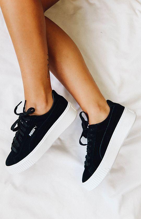 Puma Suede Platform Core Sneaker #learntennisfast | Sneakers