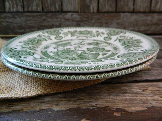 Indian Tree Green English Ironstone Tableware Ltd & Indian Tree Green English Ironstone Tableware Ltd | Johnson ...