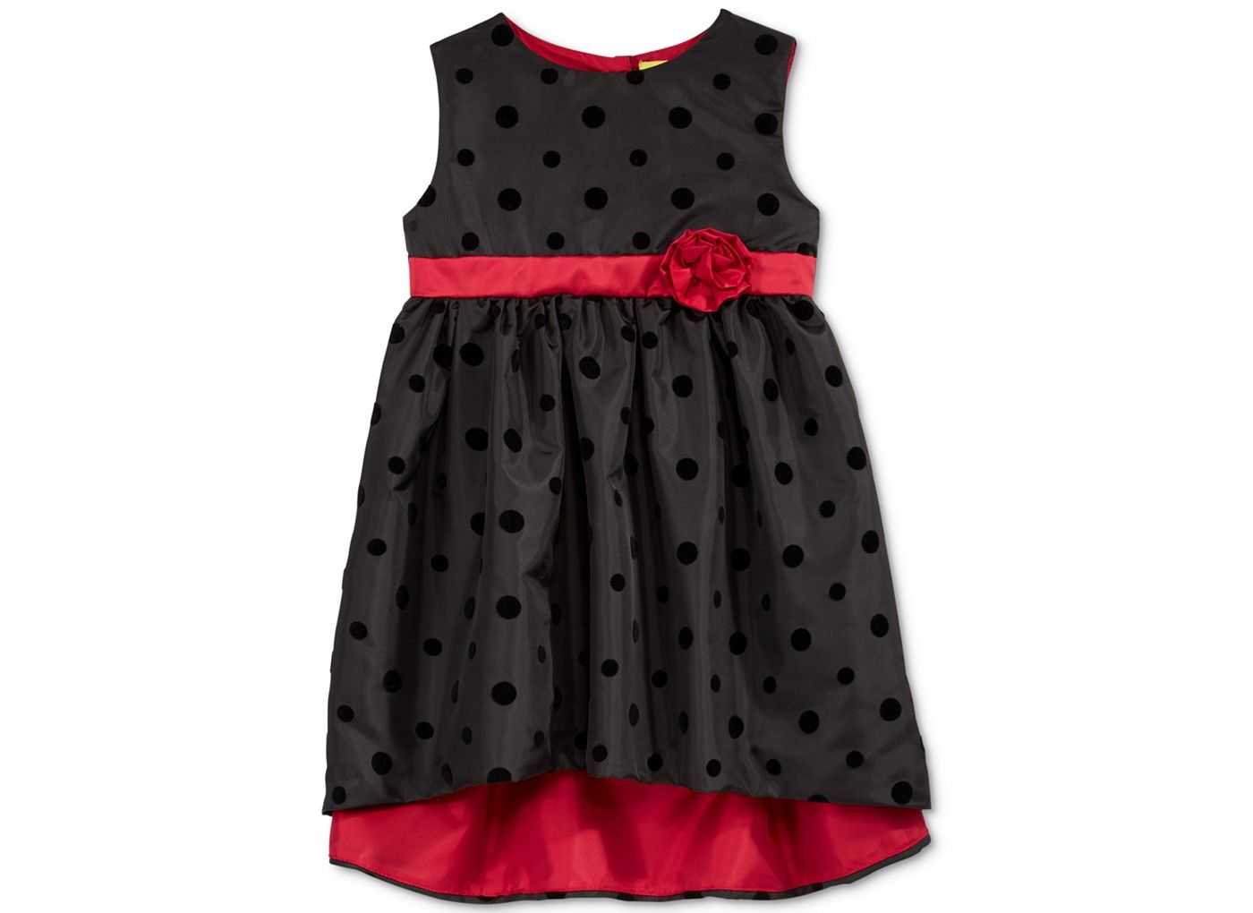 Penelope mack dotprint highlow dress baby girls months