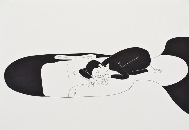 너의 위, On you - Daehyun Kim - Moonassi drawings