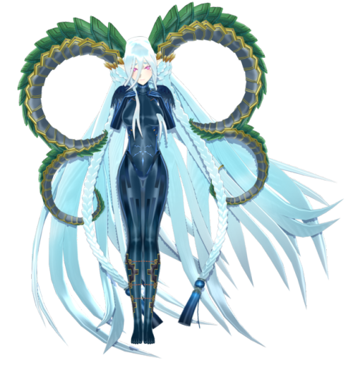 Tiamat by Akane-Chi00 NOTE: This model can crash MMD