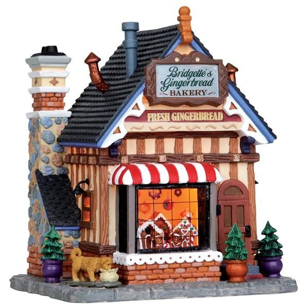Christmas Village Houses.Love This Bakery Christmas Village Christmas Village