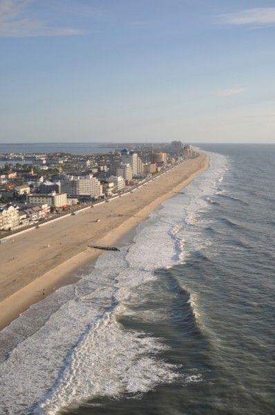 Parasailing in Ocean City is a great way to get the best views! Taken from a trip with Ocean City Parasail  #ocmd