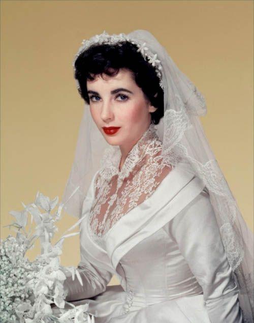 Elizabeth Taylor Wedding Dress   Google Search