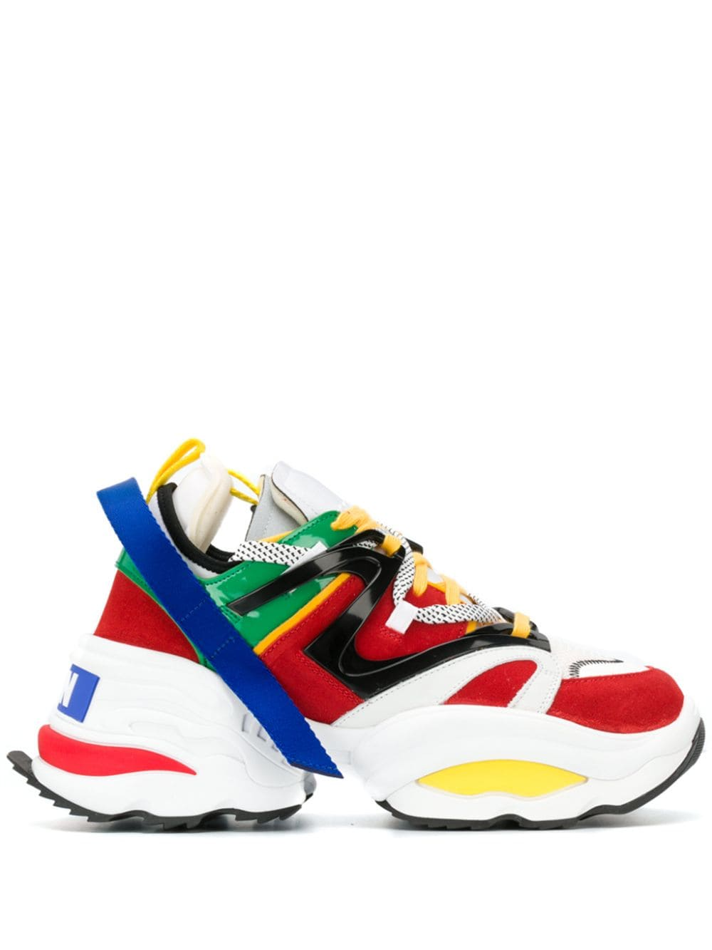 The Backyard White Punk Dsquared2 Sneakers Giant In 2019 9DE2HIWY