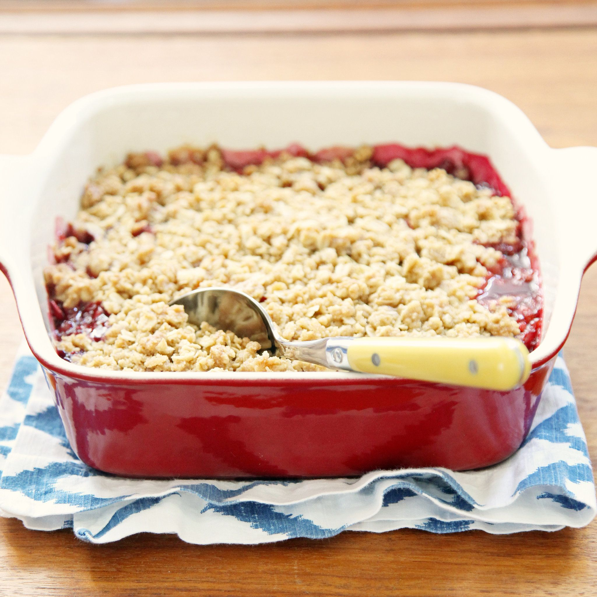How to Make a Really Good Fruit Crumble | POPSUGAR Food