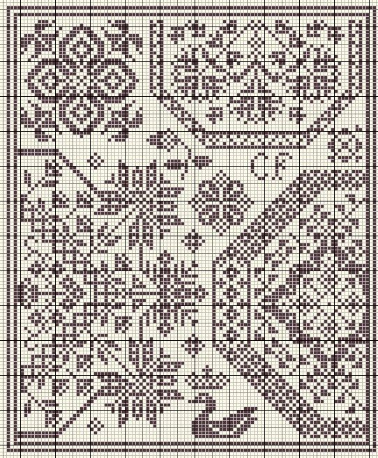 Free cross stitch pattern | blackwork | Pinterest | Kreuzstich ...