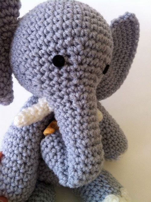 E is for Elephant amigurumi pattern by Ami Amour | Patrones ...