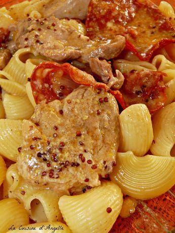 Filet mignon au chorizo et moutarde à l\u0027ancienne - la cuisine d - cuisine a l ancienne