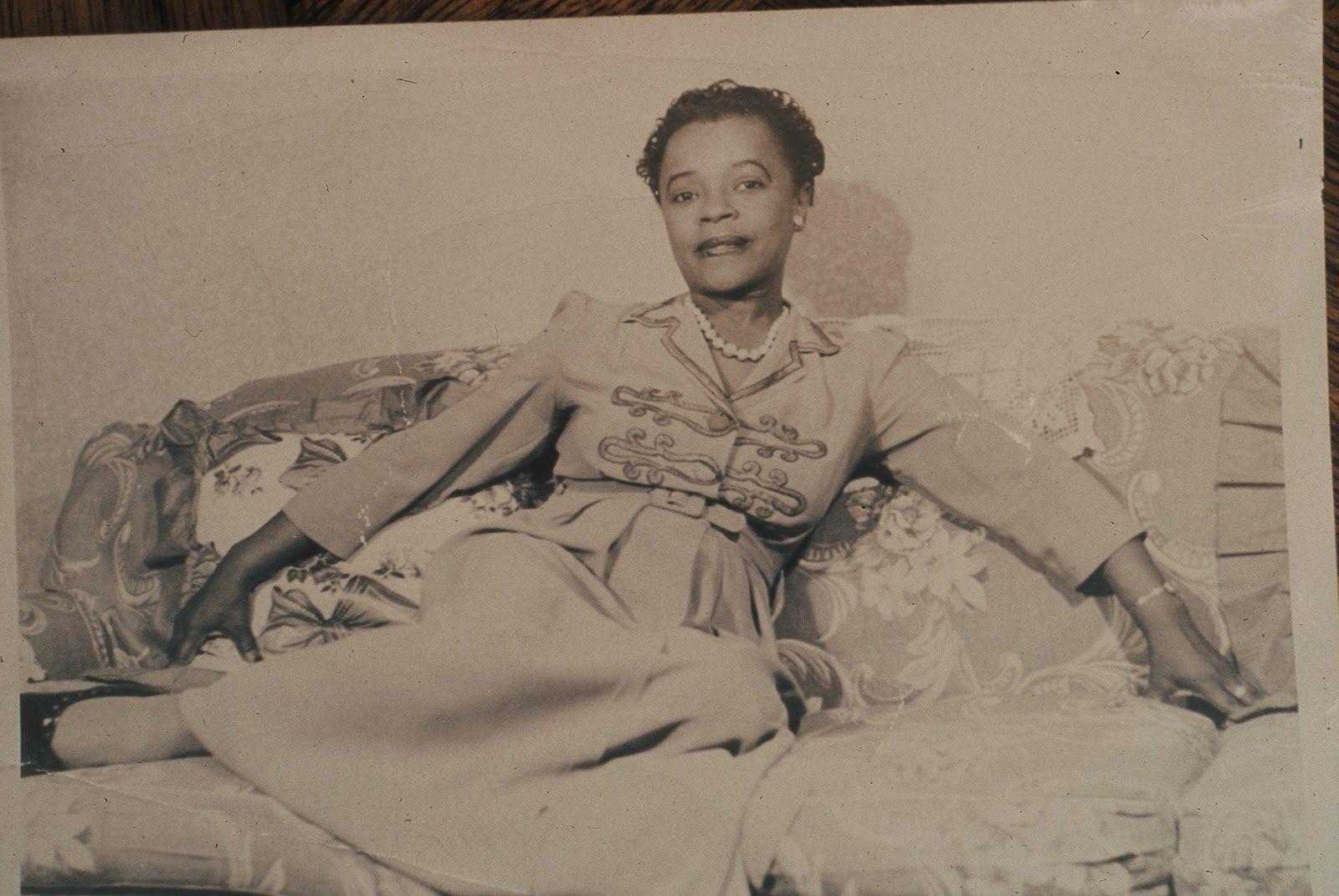Mabel Hampton personal life