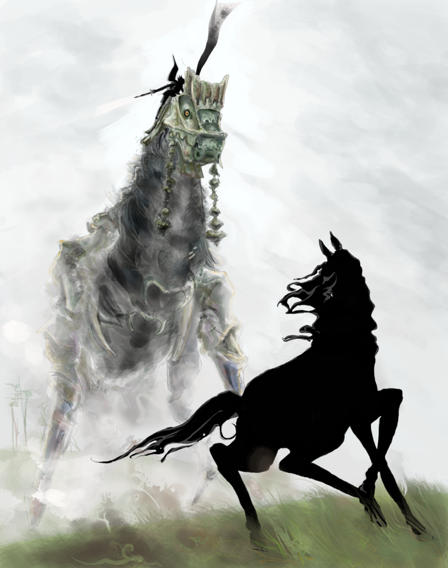 Day 8 Shadow Of The Colossus Phaedra By Lookhappy On Deviantart Shadow Of The Colossus Colossus Shadow