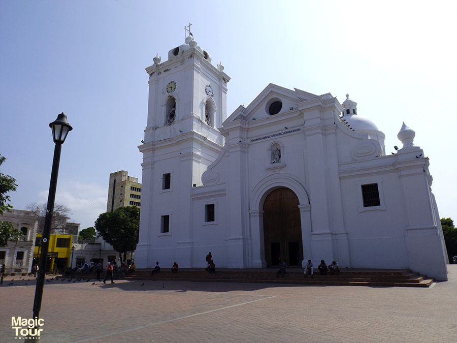 The Cathedral, Santa Marta It was the first Basilica built in Latin America #travel #adventure #cultures #church