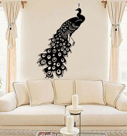 New Types Of Wall Art Stickers Wall Art Stickers Peacock Image ...430 X