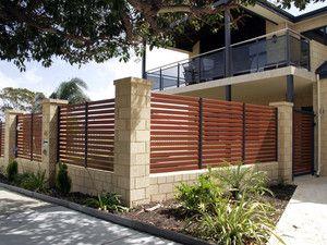 Aluminium Slat Fencing Modern Fence Design House Fence Design Fence Design