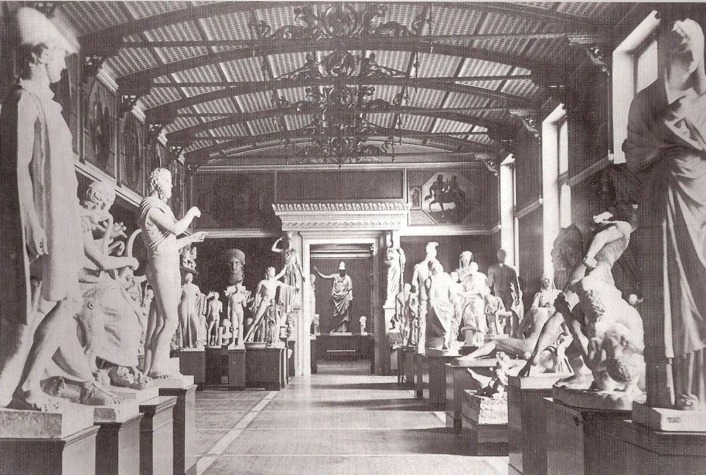 Neues Museum Berlin Innenansicht Undatiert Ancient Sculpture Museum Berlin