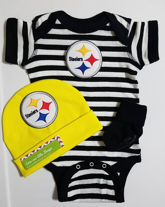 3782db93c Pittsburgh Steelers baby boy outfit/ Steelers baby shower/ Steelers ...
