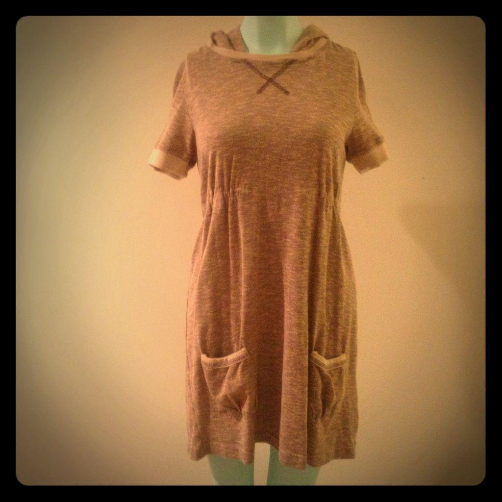 Heritage Short Sleeve Hoodie Dress