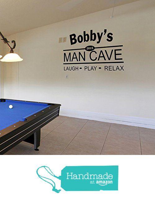 pinsticky wall vinyl wall decals on man cave, garage & bar wall