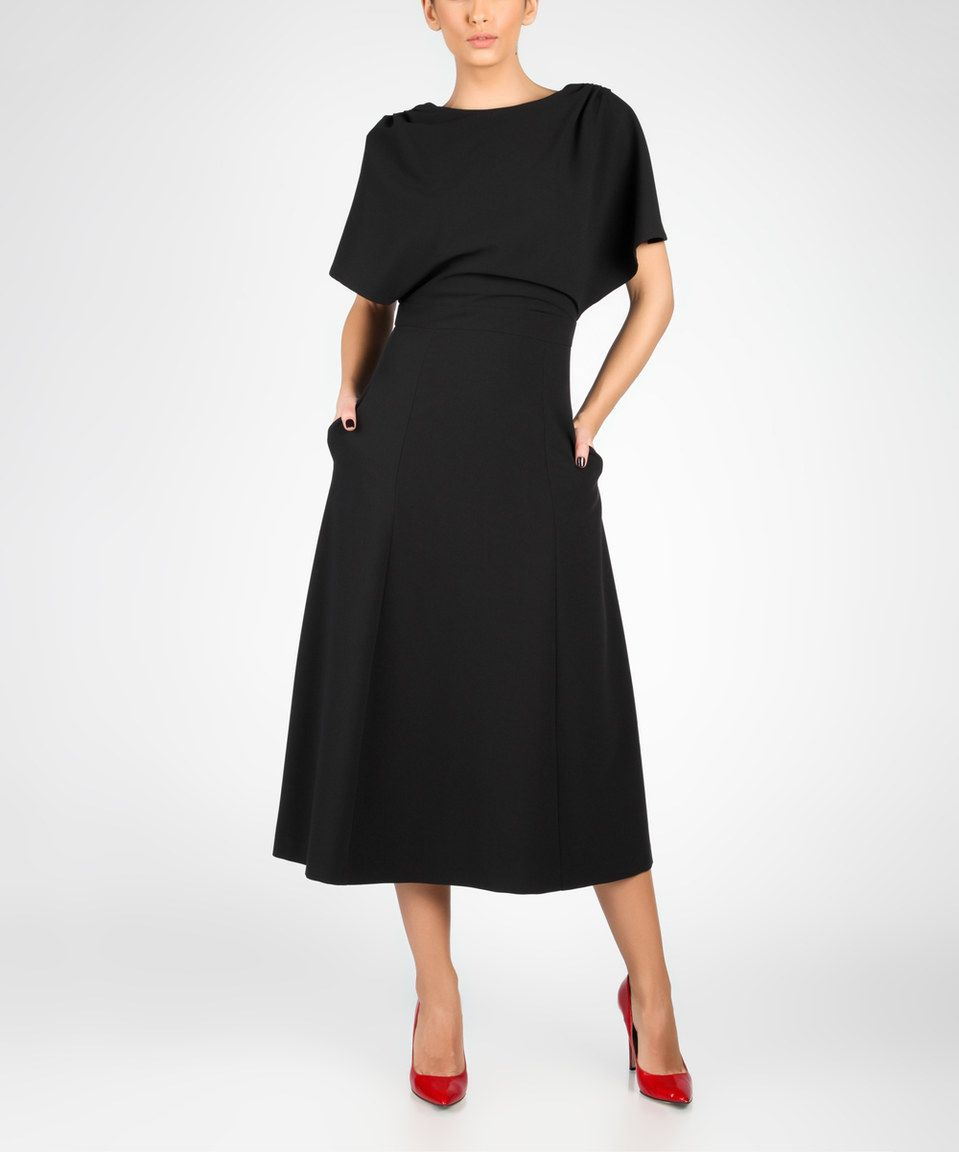 Look what i found on zulily marmuri black capesleeve openback