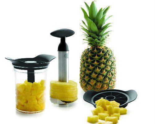 Lacor 60393 Messer Und Schaler Set F Ananas Amazon De Kuche