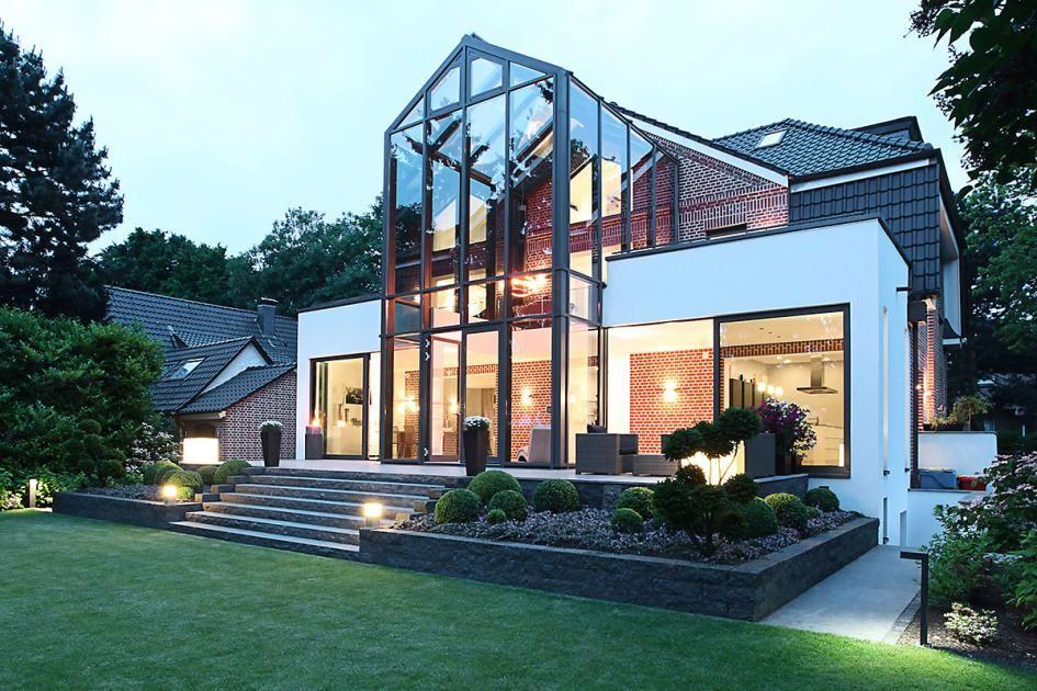 Umbau Glasturm Fur Ein Ziegelsteinhaus In 2019 Home Home
