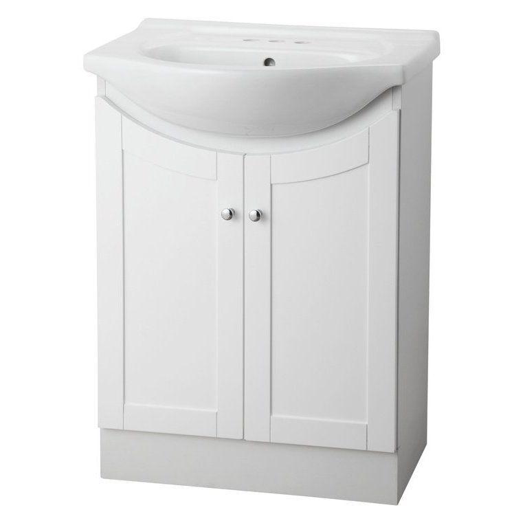 Shop Project Source JAV 24-In X 124-In Bathroom Vanity With