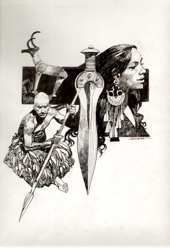Il bronzo Comic Art