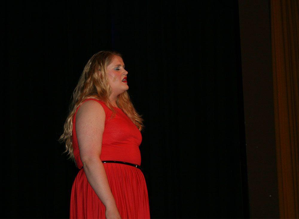 Billede fra musicalen.