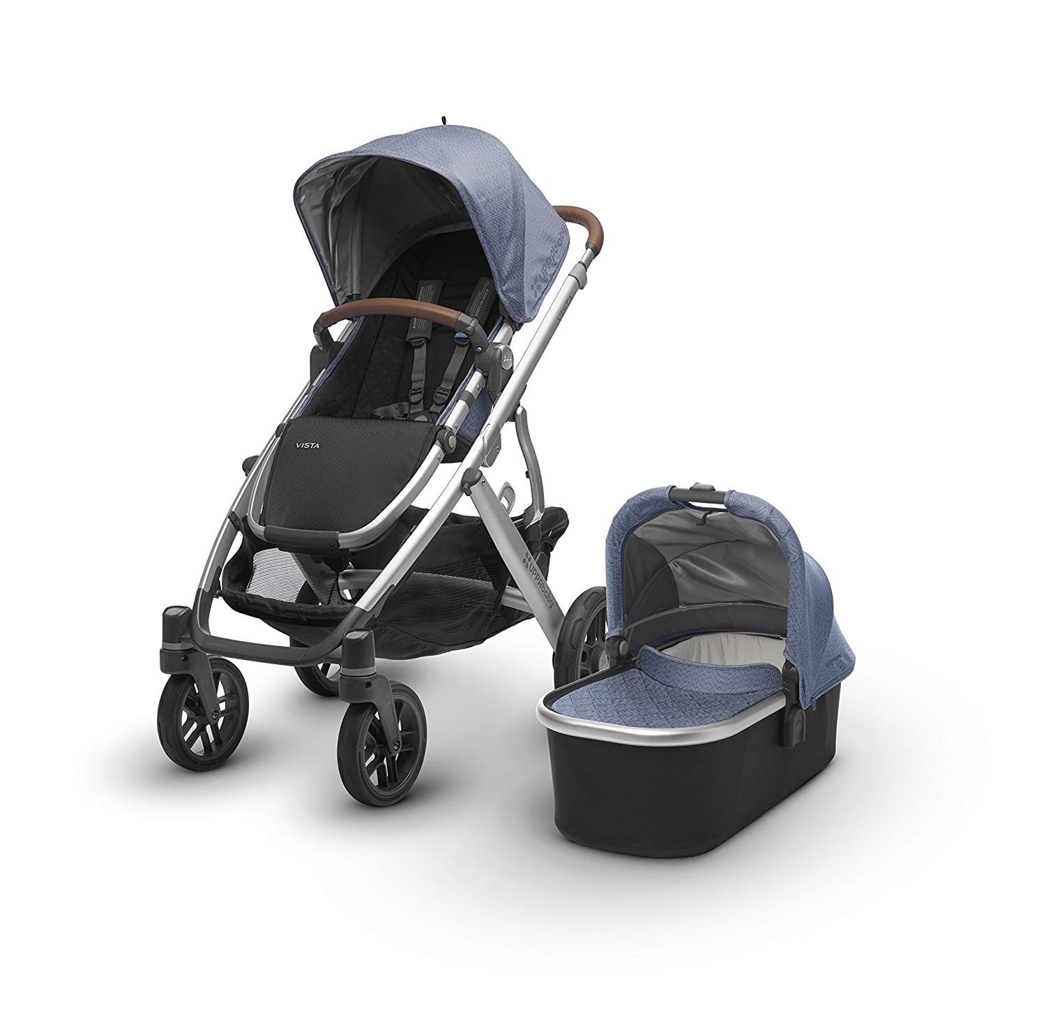 NEW! 2018 model VISTA Stroller. Includes and full size