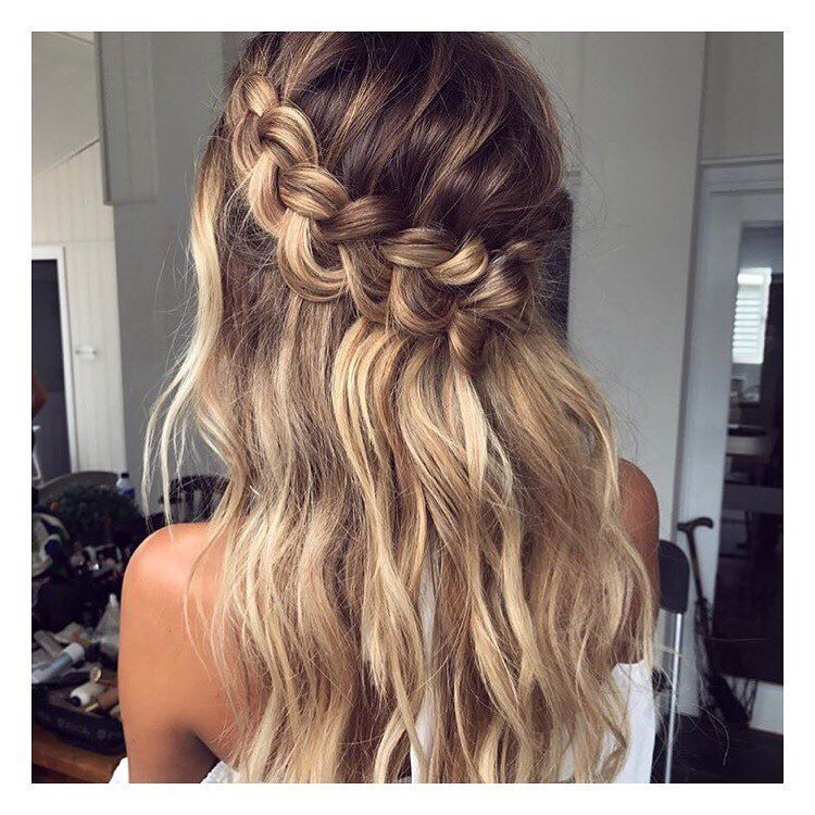 Hair Hairstyle Hairspo Hairspiration Inspo Inspiration Pretty Cute Love Girl Style Blog Blogger Hair Styles Long Hair Styles Braids For Long Hair