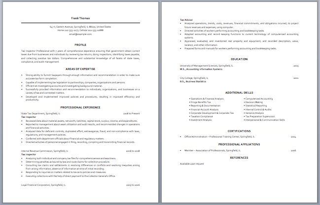 Junior Tax Accountant Resume Sample Resume Template Accountant Resume Tax Accountant Sample Resume Templates