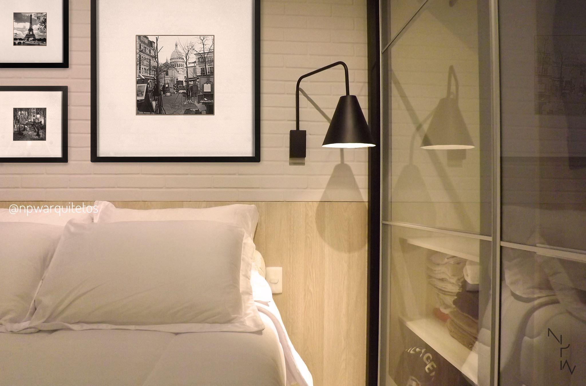 Quarto de Hóspedes/Guests Room - Apartamento JD/JD Apartment NPW Arquitetos