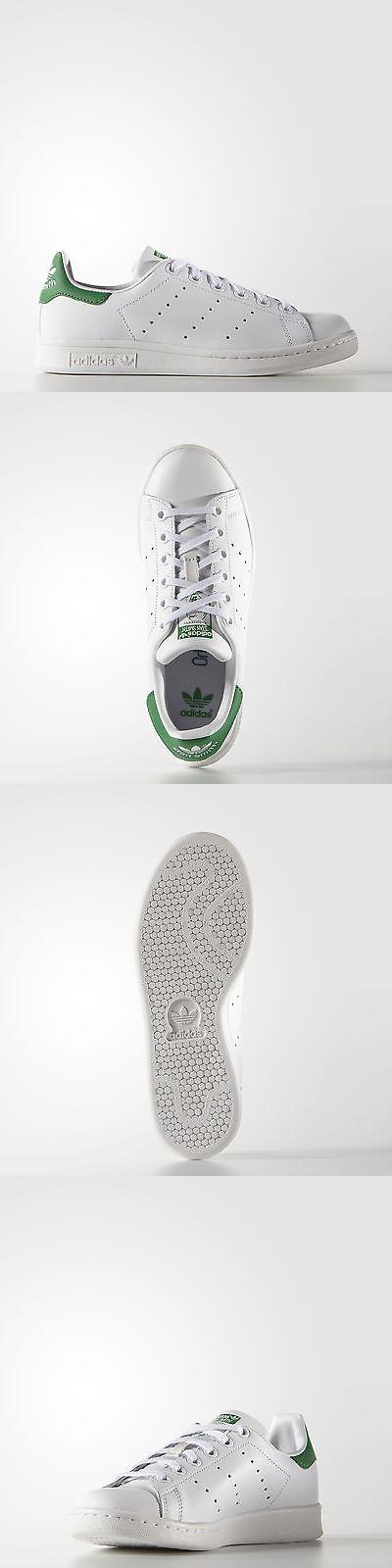 Ragazzi 57929: Scarpe Smith Adidas Originali Bambini Stan Smith Scarpe Di Cuoio Bianco 97c8e5