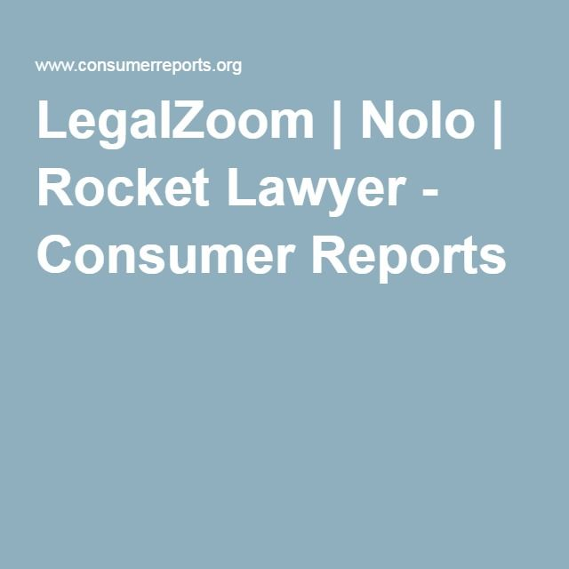 Legalzoom Consumer Reports Lawyer And Diy Websites