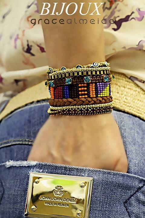 Inspiração Étnica na Loja Virtual: www.lojagracealmeida.com.br