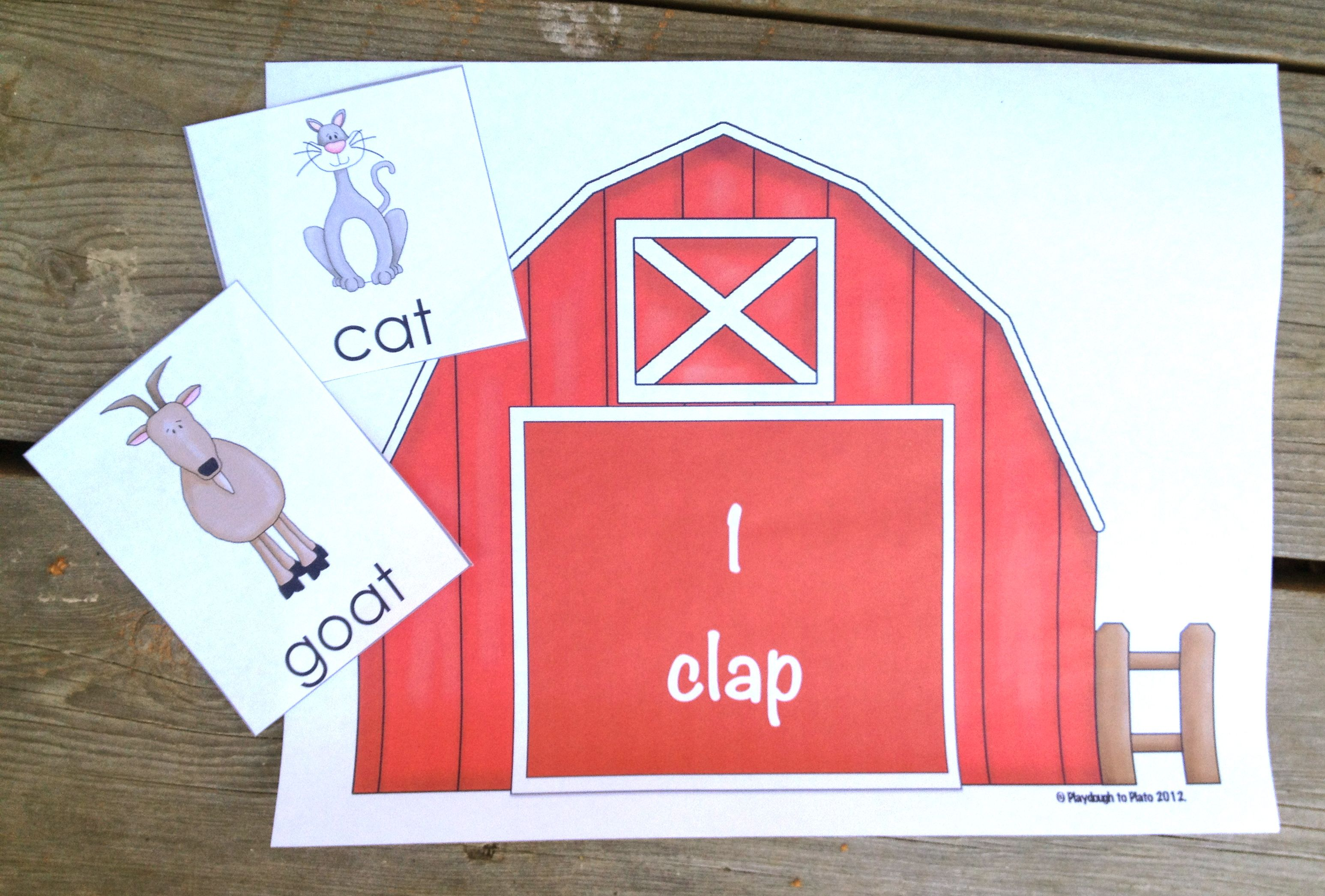 Farm Themed Literacy And Math Activities For Pre K And